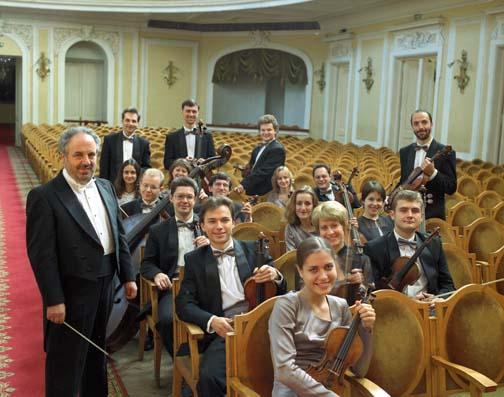 Kremlin-Kammerorchester mit Dirigent Misha Rachlevsky